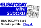USATODAY Mini Sudoku